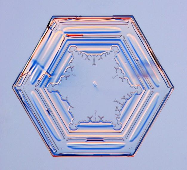 Schneekristall - Einfaches Prisma