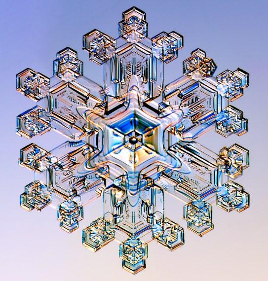 Schneekristall - Sternförmige Dendrite