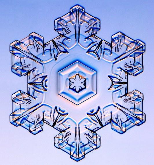 Schneekristall - Stern